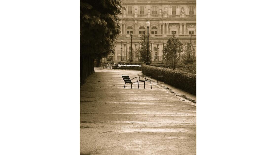 Paris Le jardin du Palais Royal