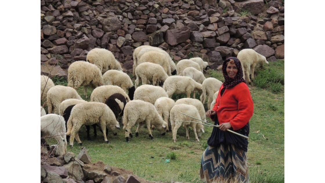 La bergère et ses moutons...
