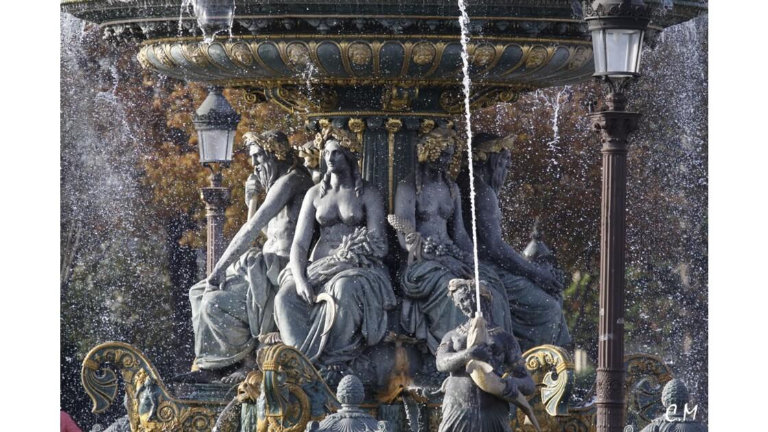 La fontaine à la Concorde