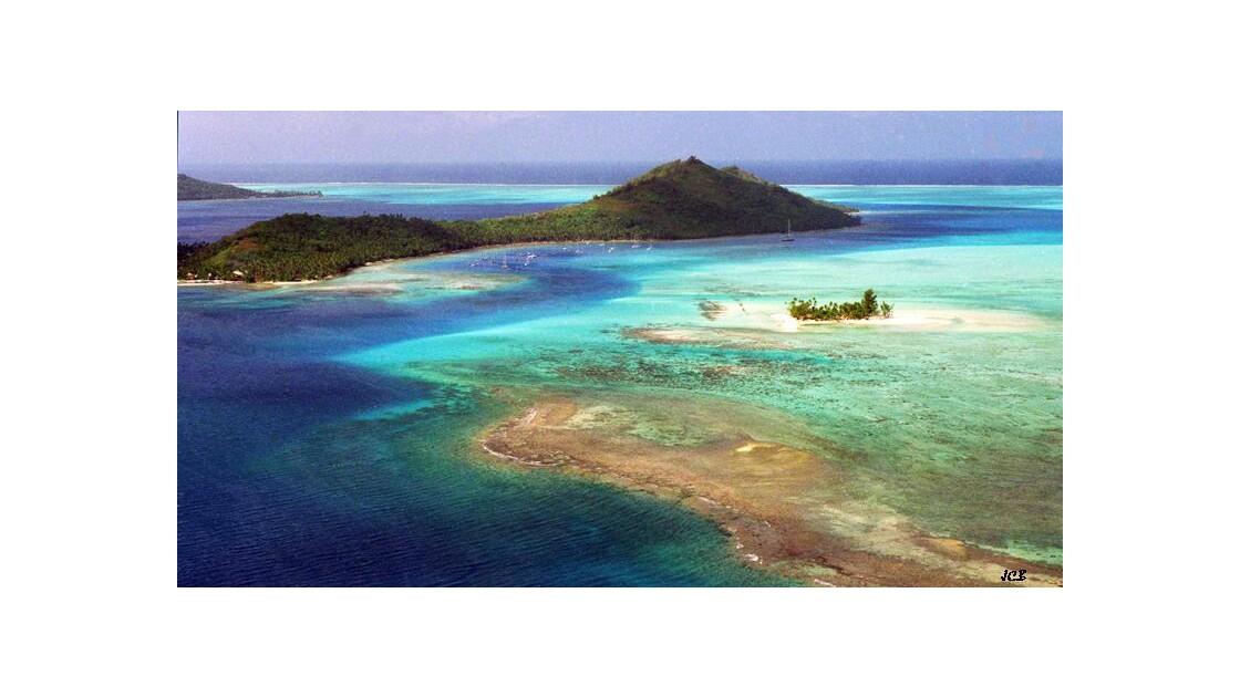 Lagon de Bora Bora - Polynésie