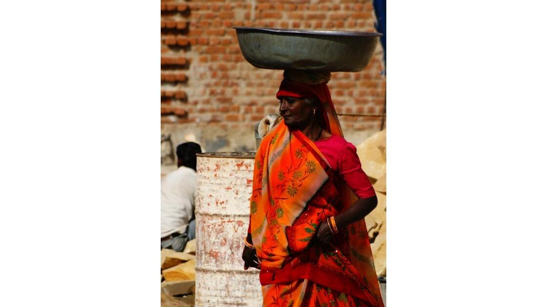 Indienne de corvée