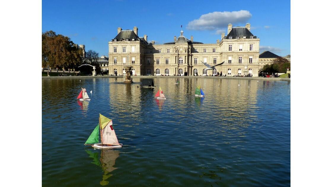 Petits bateaux du Luxembourg
