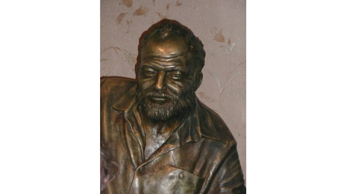 Statue de Ernest Hemingway