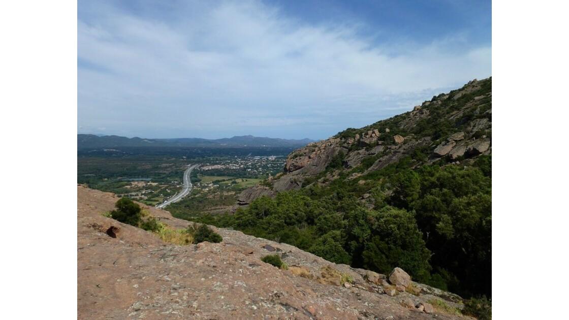 Roquebrune sur Argens - Vue du rocher