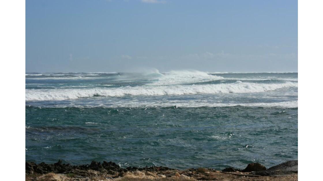 La mer déchainée au Moule