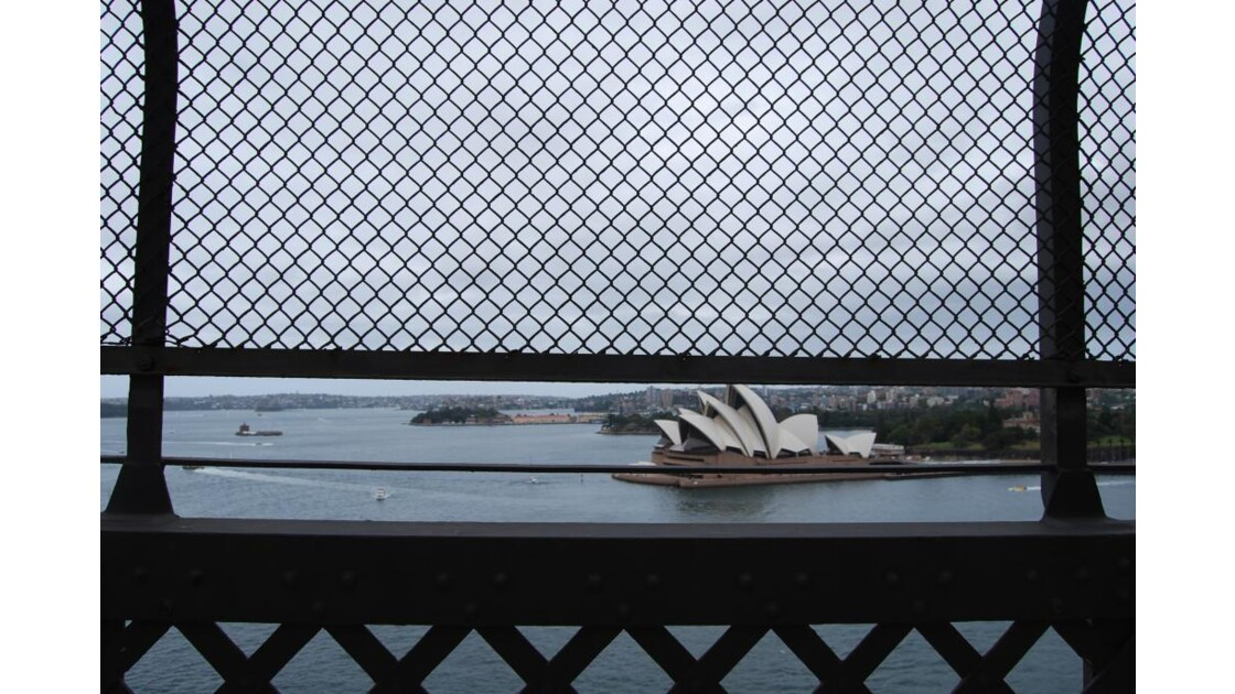 Opéra House depuis le Harbour Bridge