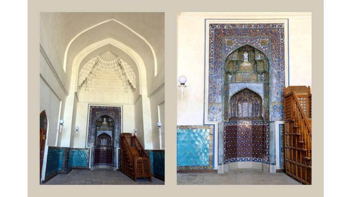 Mihrab mosquée Kalon