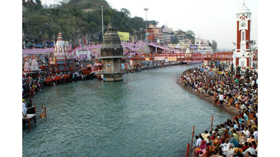 Le Gange à Haridwar