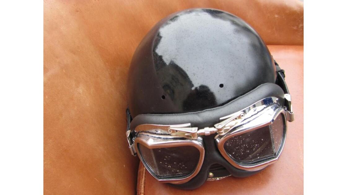 casco sur cuir