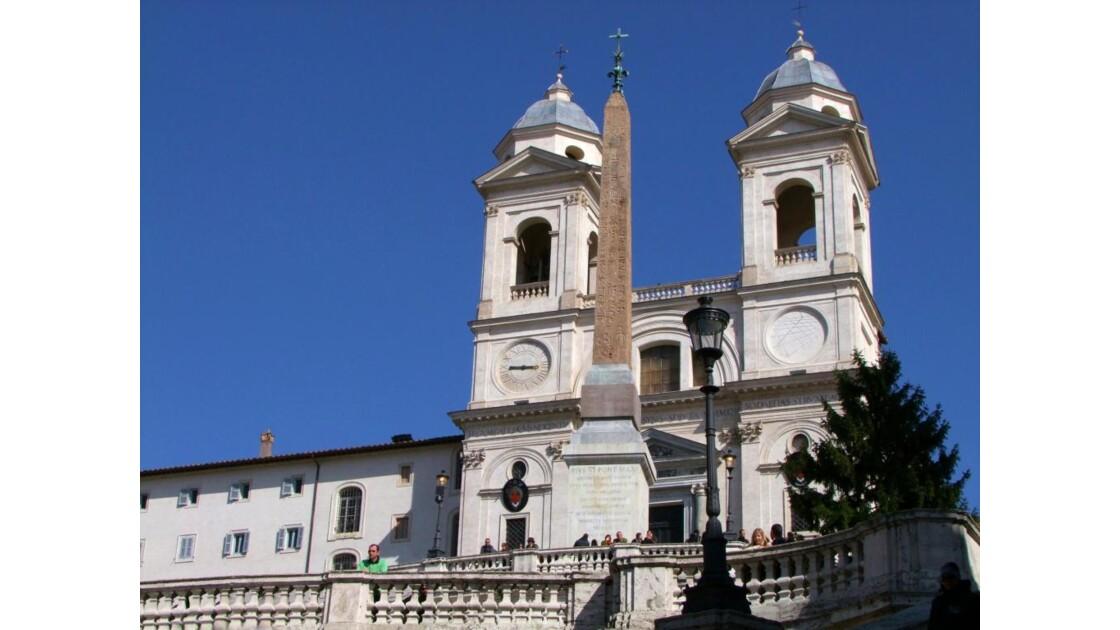 ROME Piazza de Spagna Trinité..JPG