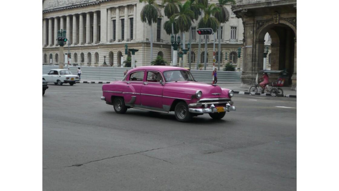Belle voiture à la Havane