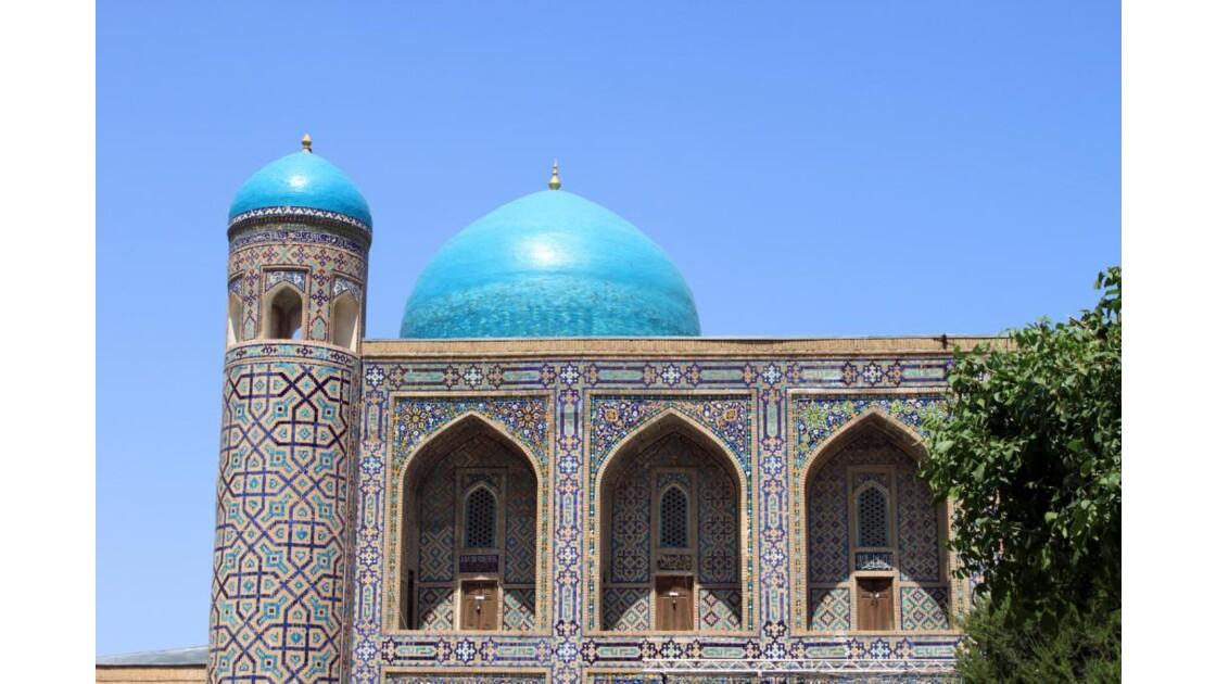 Le Registan, à Samarcande
