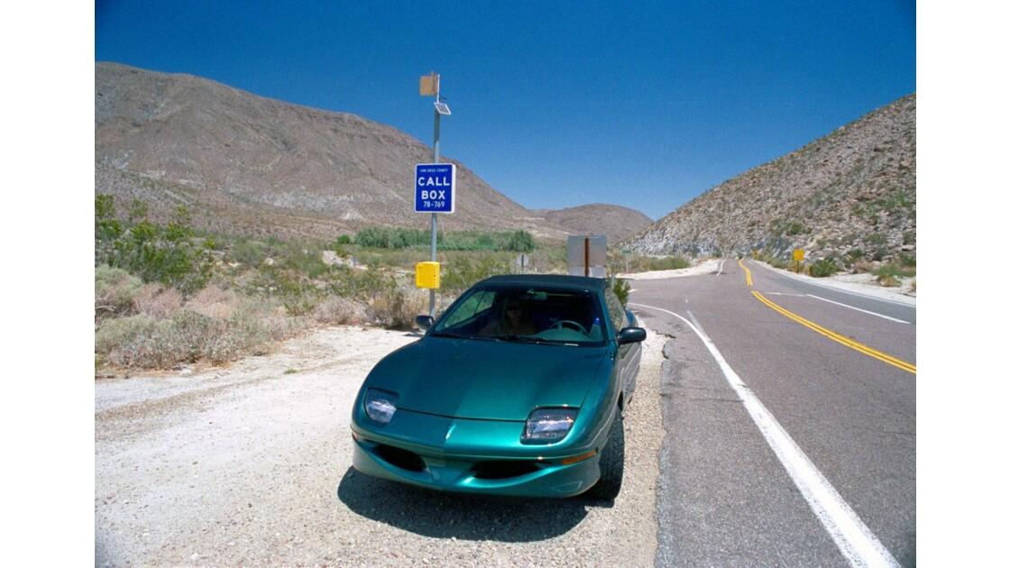 Route 66 Anza Borrego Pontiac Sunfire