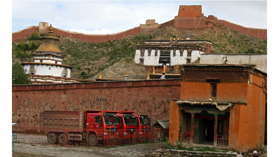 Gyantsé: le monastère (Pelkor Chode)