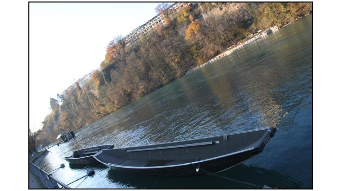 Barques sur l'Arve