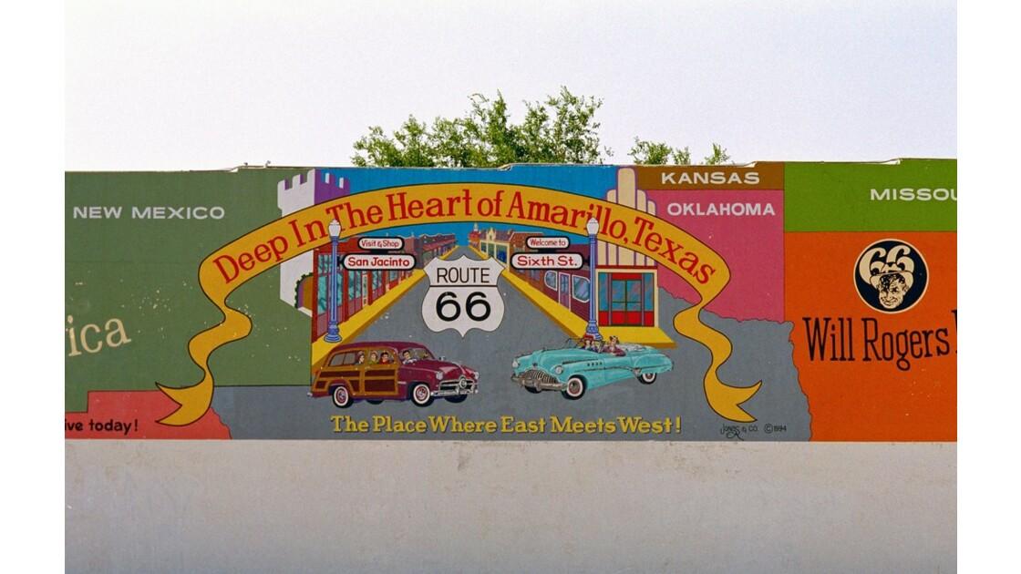 USA Route 66 Amarillo