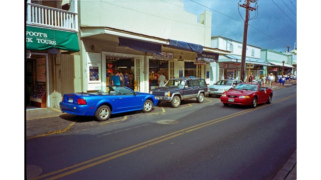 Hawaï Maui Lahaina Front Street 1