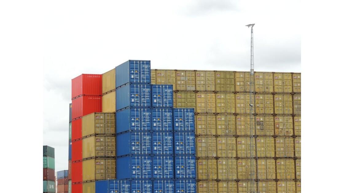 Jeux de légo au port de Rotterdam !!