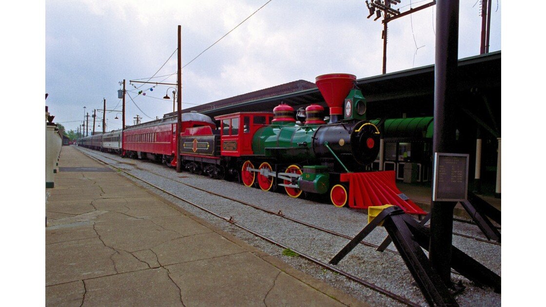 Chattanooga Tennessee V.Railroad Museum