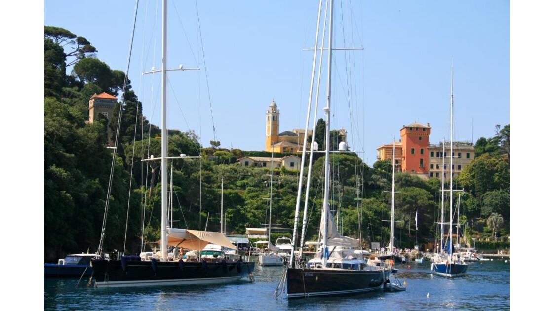 Portofino : Arrivée au port