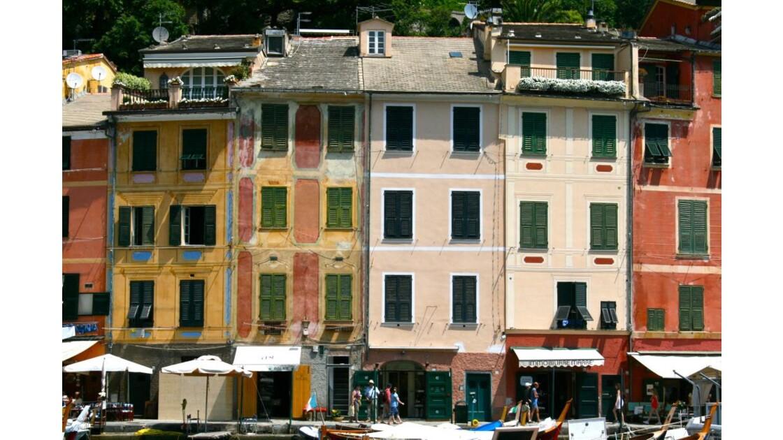 Portofino: sur un quai du port