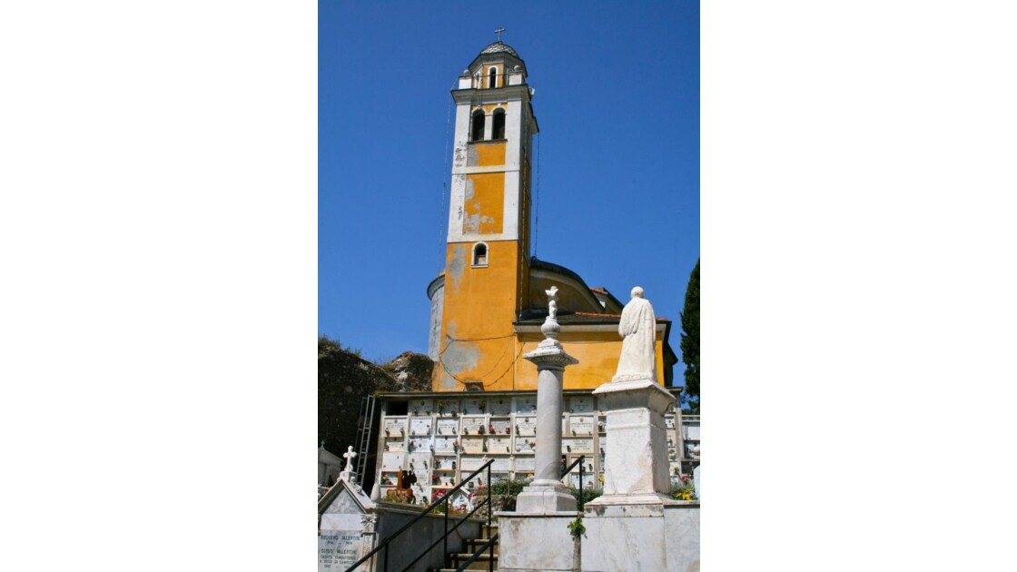 Portofino: cimetière San Giorgio