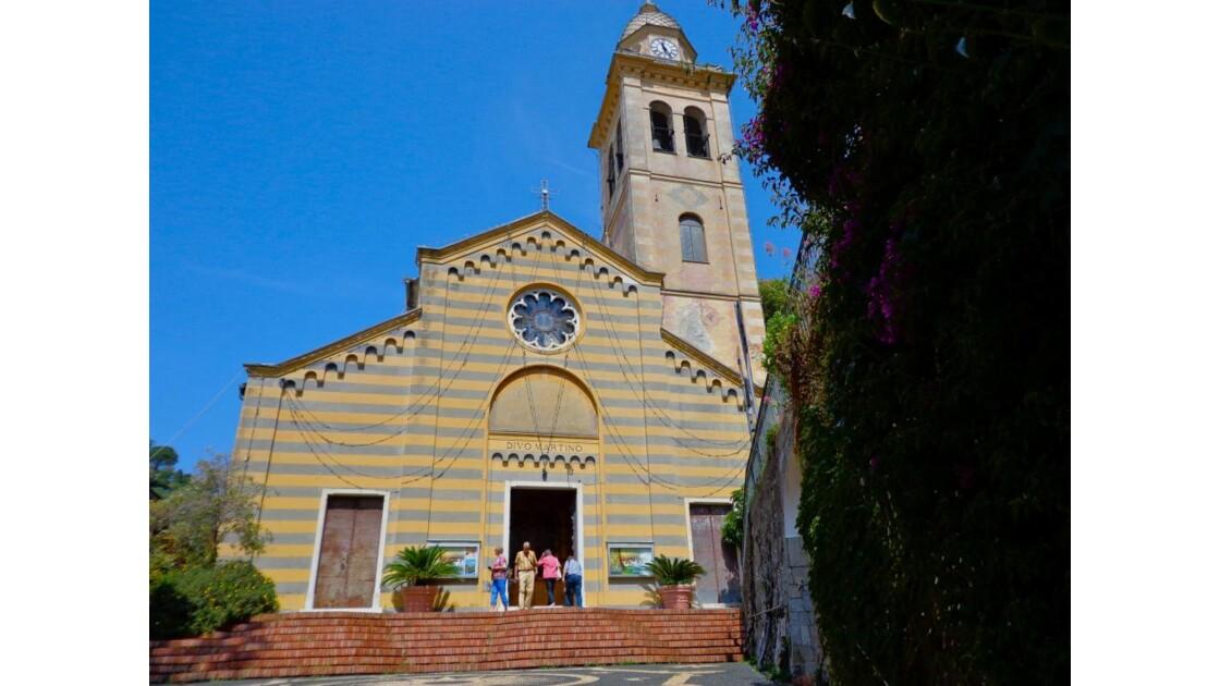 Portofino: église San Martino