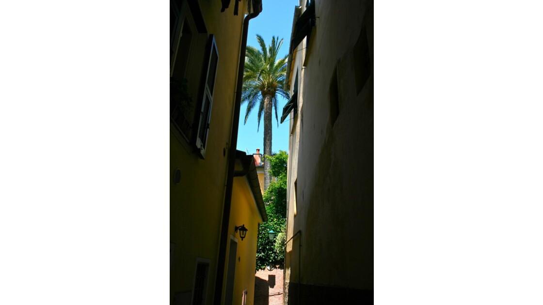 Portofino: ruelle du village