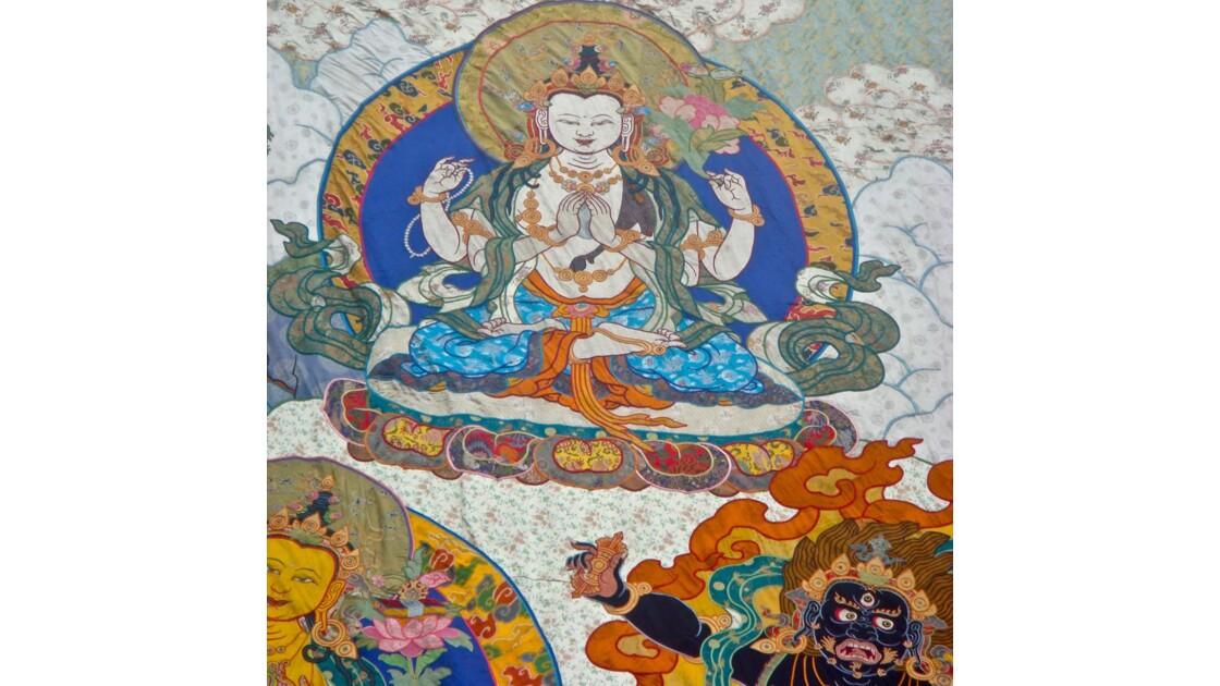 Thangka (détail)
