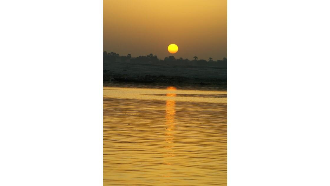 Levé sur le Gange