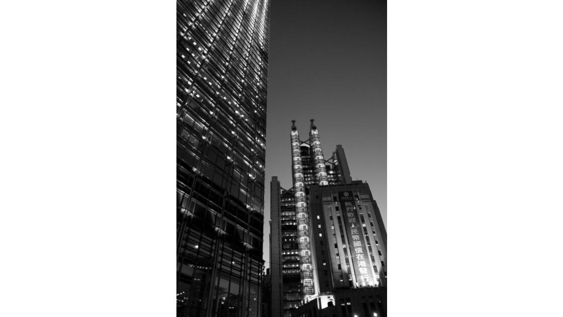 Hong Kong Night Views - 2/5 (buildings)