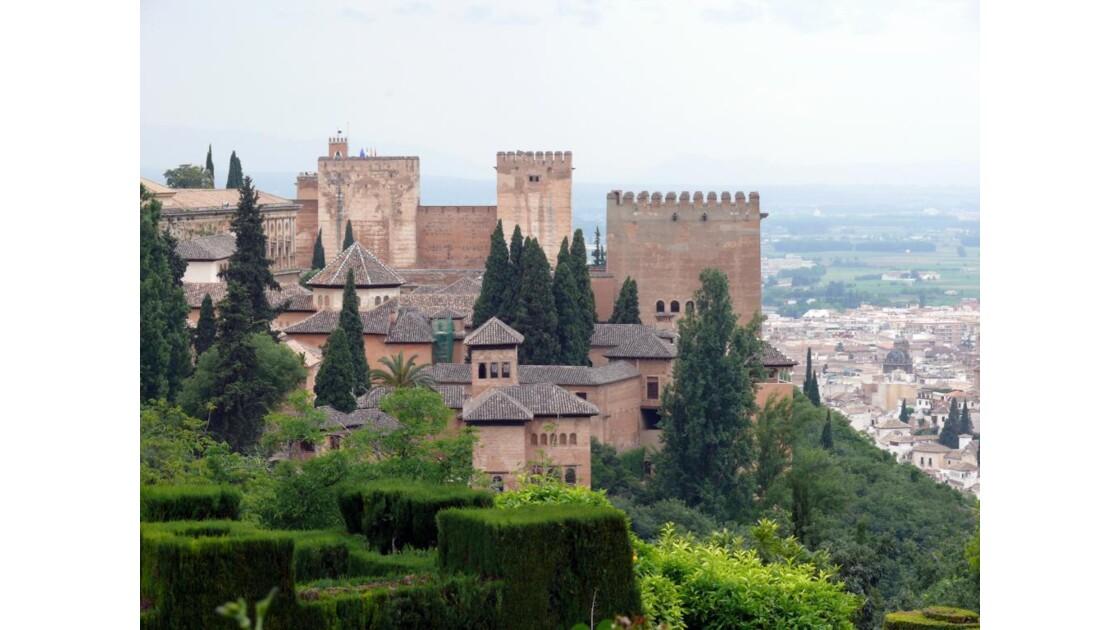 les tours de l'Alcazaba