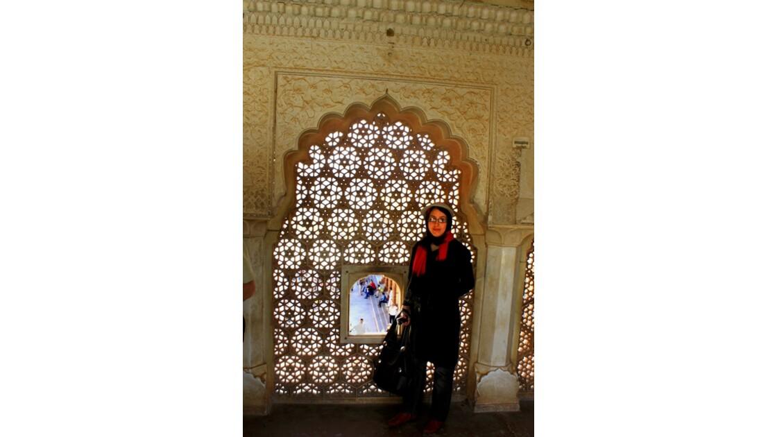 Moucharabieh  de la Porte de Ganesh