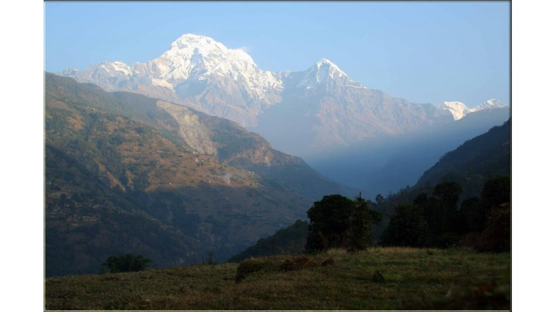 Paysage népalais