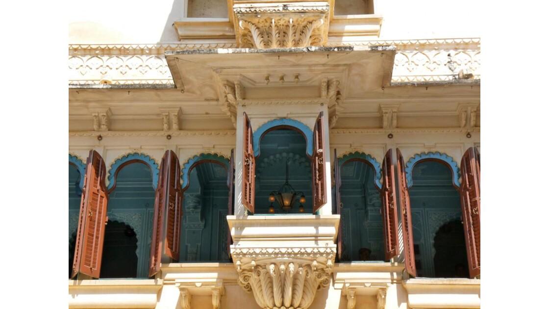City palace Cour des paons
