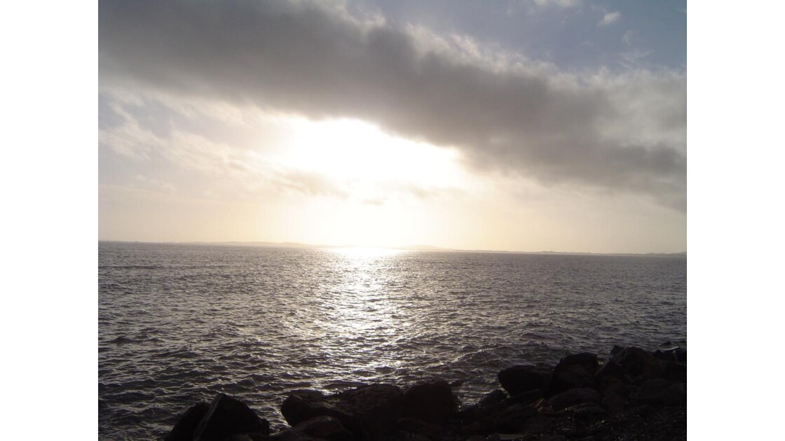 avant le coucher de soleil