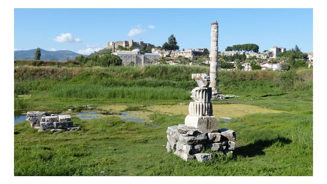 Vestiges temple d'Artémis (Artémision)