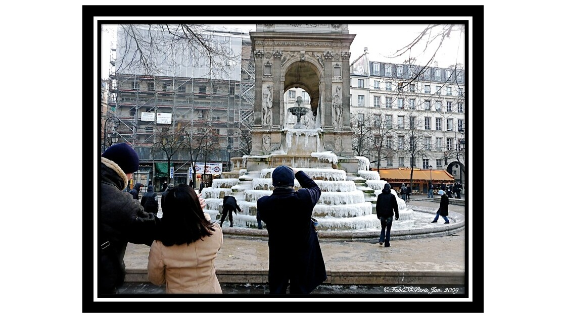 Freeze on the Fountain of the Innocents