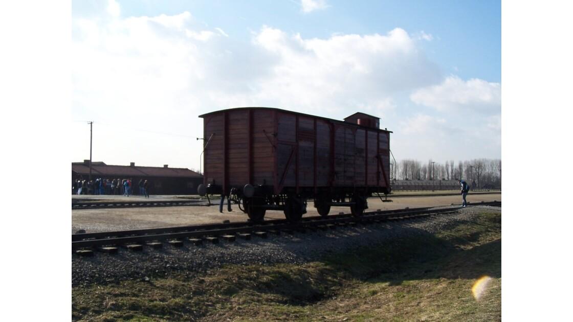 voie de chemin de fer intérieure