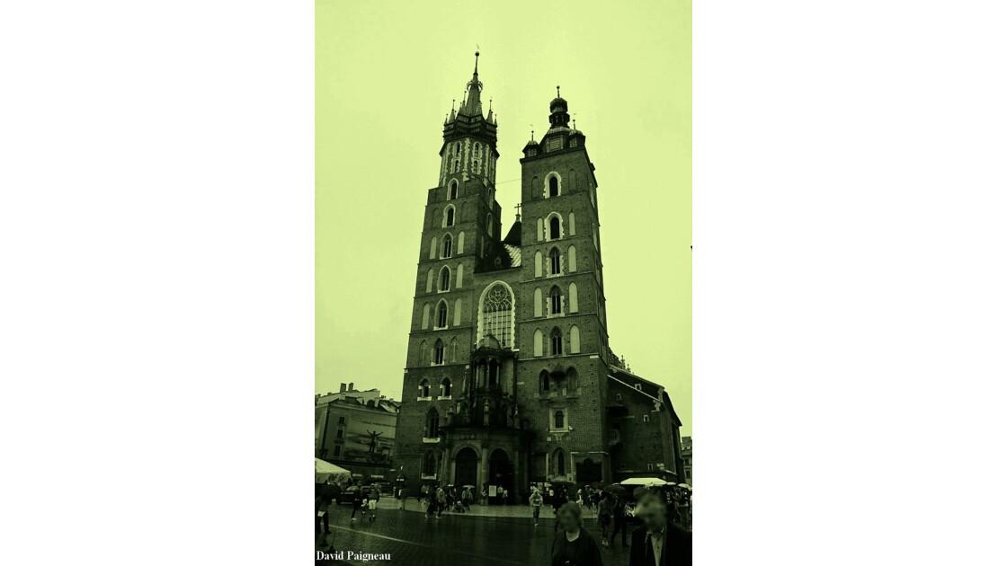 Basilique Sainte-Marie, Cracovie 2009