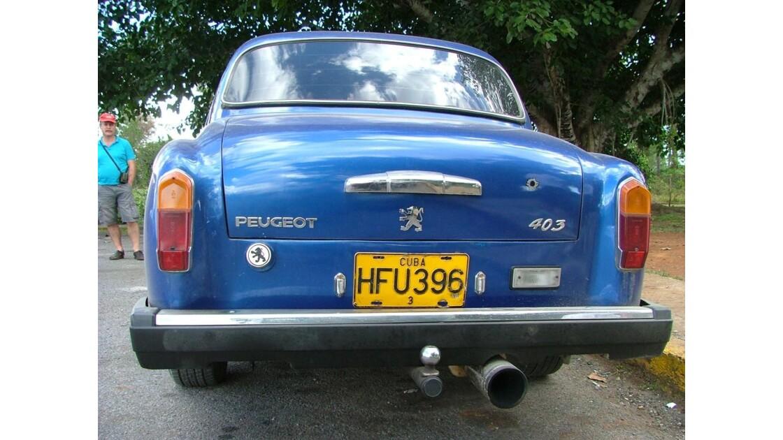 403 Peugeot a Cuba