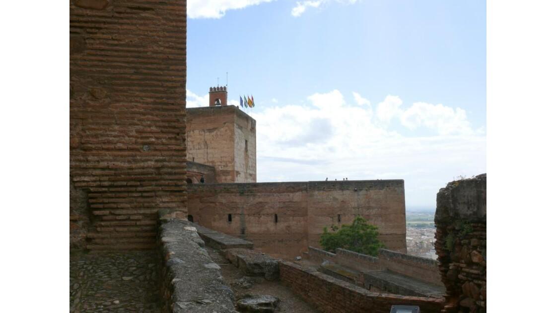 les remparts de l'Alcazaba