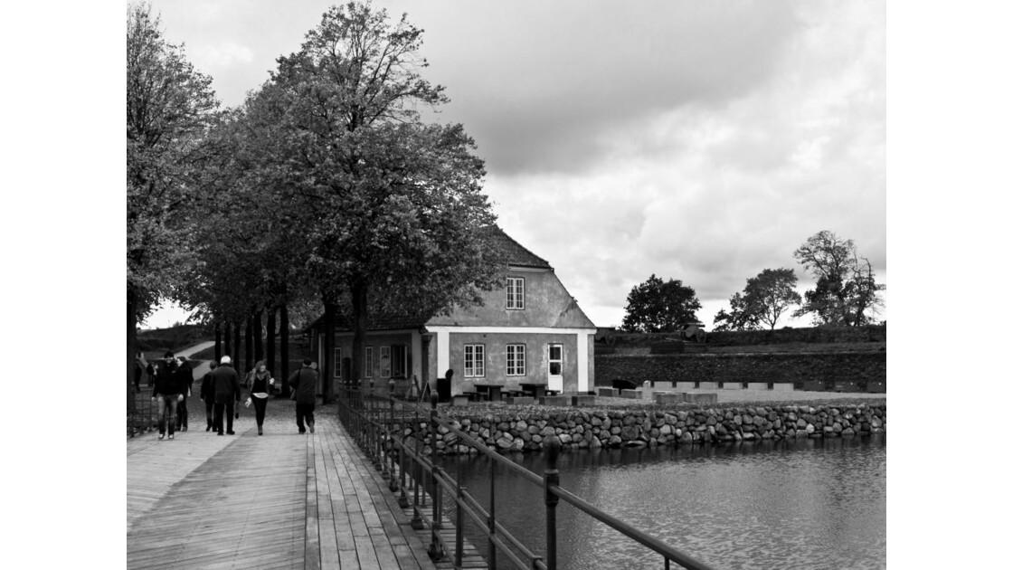 Dans le parc du château d'Elseneur