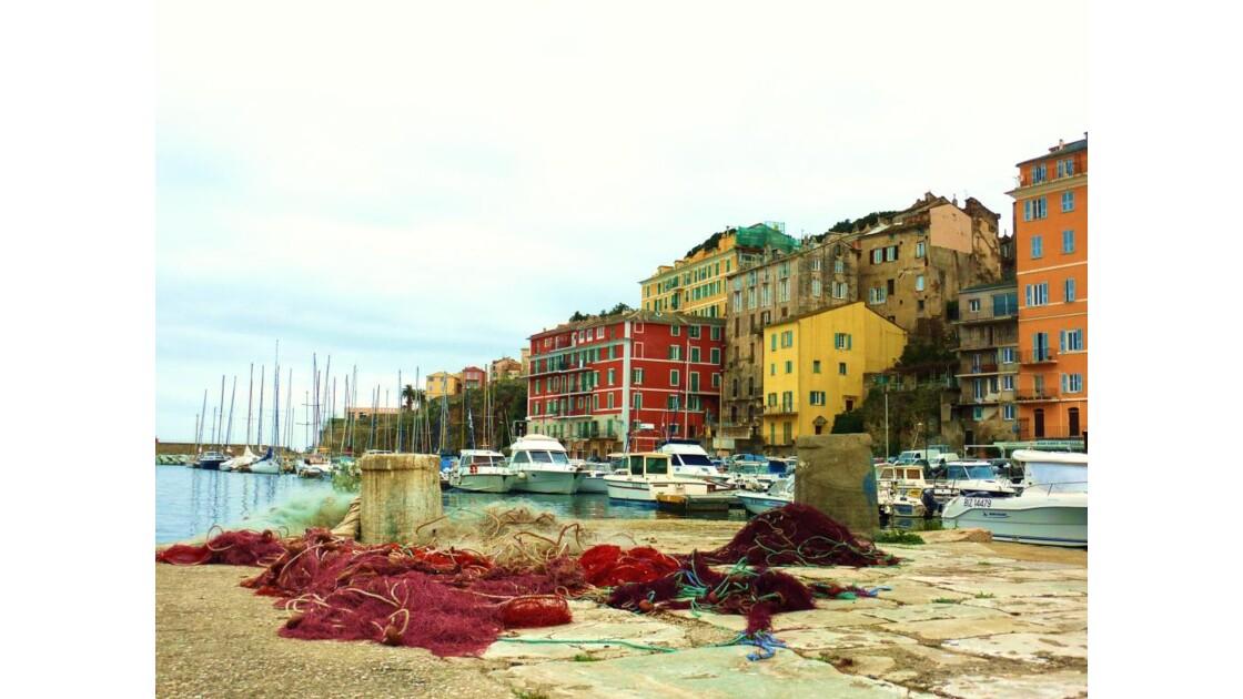 vieux port à Bastia.