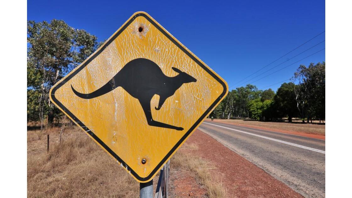 PANNEAU INDICATEUR AUSTRALIEN