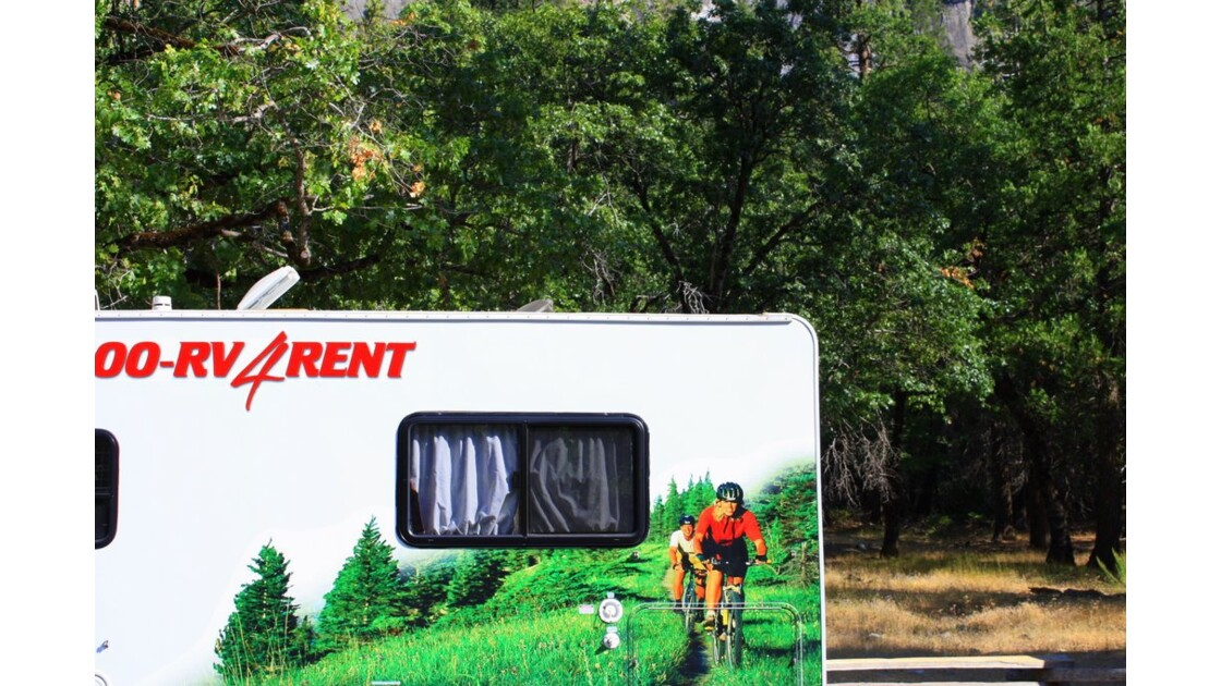 RV for Rent Yosemite