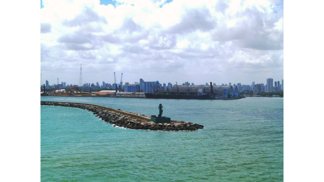 Arrivée à Recife