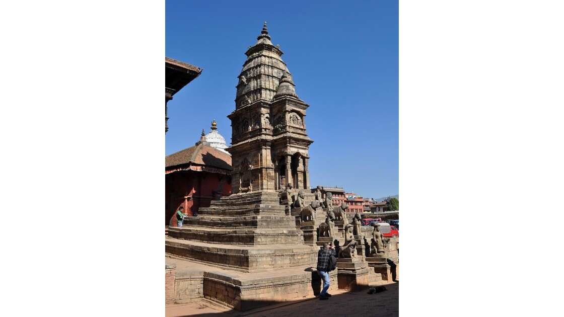 Bhaktapour: le temple Siddhi Laxmi