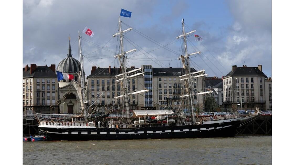 Nantes et le Belem