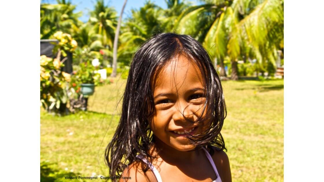 Les enfants de Rangiroa